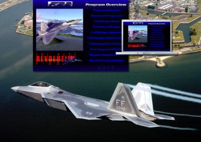 Lockheed F-22 Presentation To U.S. Congress