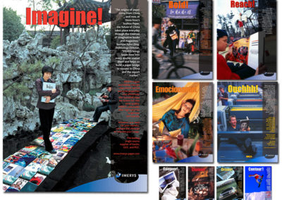 Imerys Testimonial Magazine Advertising Inserts