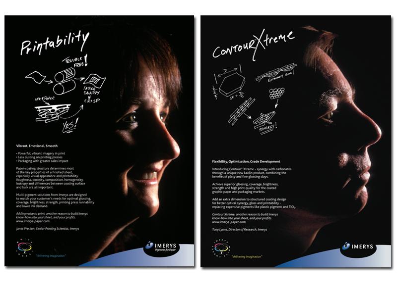 Imerys Print Magazine Advertising