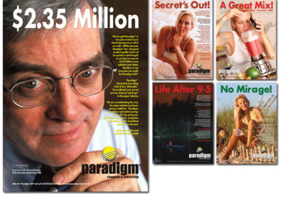 Paradigm Chemical Magazine Advertising