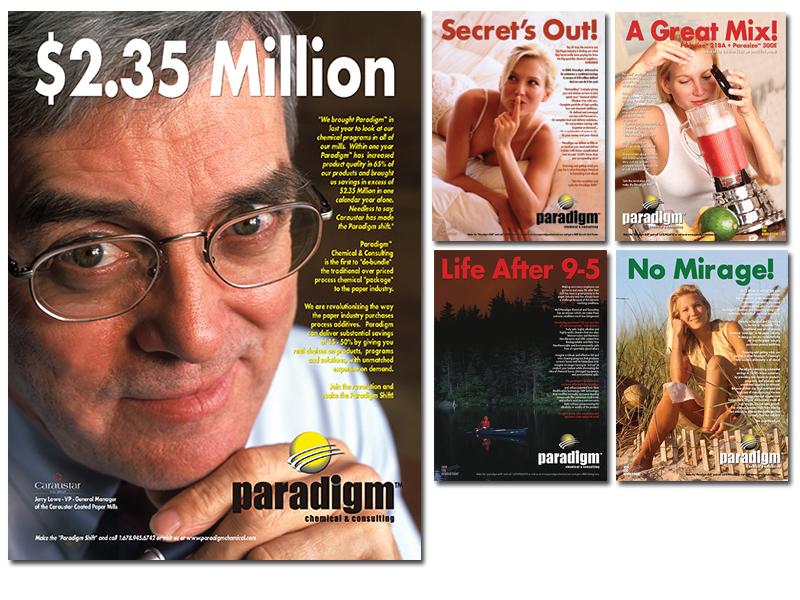 Paradigm Chemical Magazine Advertising