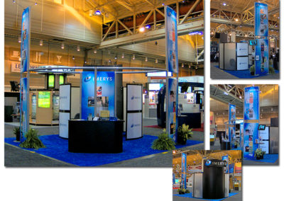 Imerys 20'x20′ Trade Show Booth