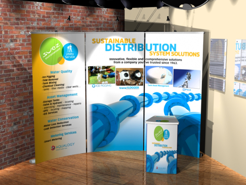 Suez Utility Service Group Regional Trade Show Booth