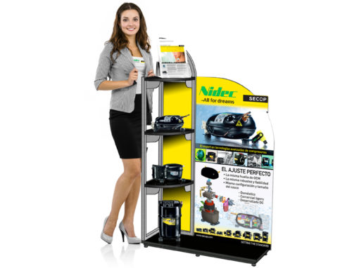 Nidec Global Appliance In-Store Product Display