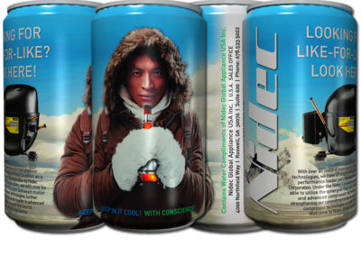 Nidec Secop Trade Show Water Cans – Roswell, GA