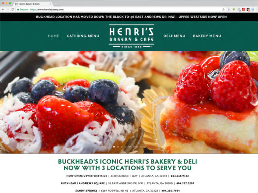 Henri's Bakery & Cafe