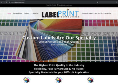 Label Print Technologies Website