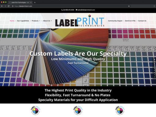 Label Print Technologies Website